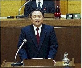 2006/4/14 区議会で高野区長が放置自転車対策税の廃止を正式に発表
