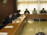 2004/11/25 魚沼市との防災情報交換会を開催