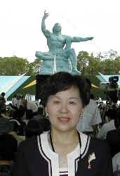 2003/8/9 全国非核宣言自治体総会、長崎原爆祈念慰霊祭