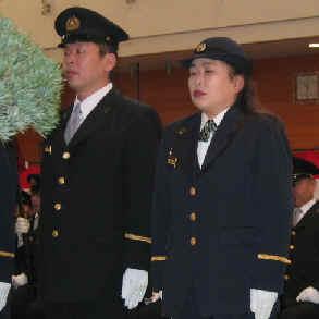 2004/1/18 池袋消防団始め式・第5分団総会