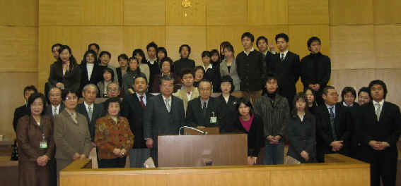 2004/1/17 豊島区模擬区議会-男女共同参画条例制定記念