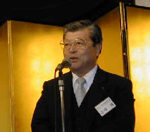 2003/12/2 豊島区体育協会&スポーツ議員連盟、年末懇親会