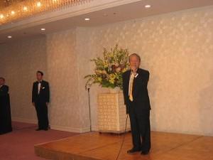 2005/5/18 足立勲会長中心に新年度の出発