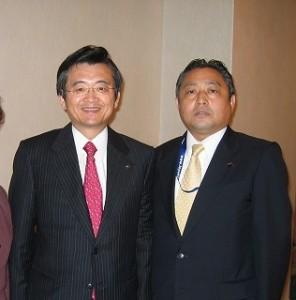 2005/10/1 豊島区と宮城県の相互交流署名式