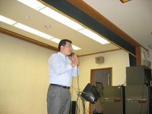 2005/10/2 町会主催の敬老会が花盛りです
