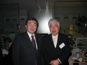 2006/1/10 ―浴場組合の皆さんと新年のご挨拶!