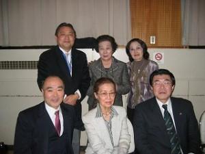 2006/2/3 豊島区立中学校PTA会長経験者「とみの会」30周年式典