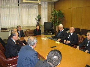 2006/3/6 区体育協会の役員さんから陳情
