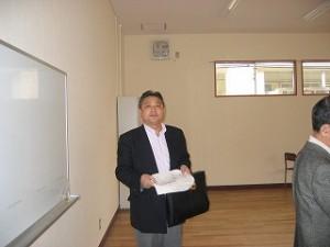 2006/3/12 区立西池袋中学校校舎改修工事後の視察