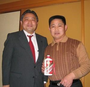 2006/3/27 山東省青島市中山公園の管理所長「苗(みょー)」さん来日