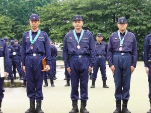 2006/5/28 豊島消防団ポンプ操法大会・島村議員3位入賞