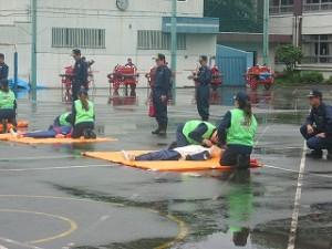 2006/6/18 池袋消防団ポンプ操法審査会