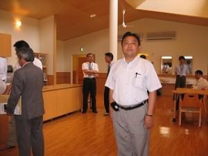2006/7/27 懐かしい「高麗清流園」跡地の特養ホーム視察