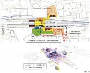2006/9/5 西武線東長崎駅のエスカレーターが上下線ホーム稼動