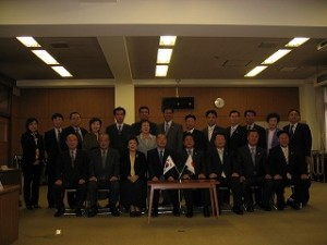 2006/11/8 ソウル・東大門区議員団来庁