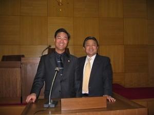 2006/12/21 ソウル特別市東大門区議員一行をお迎え
