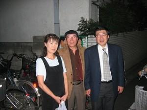 2004/11/23 長橋桂一都議ー区内中を走る!