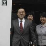 2003/11/28 東京都道路整備推進大会-高野区長が決議朗読