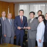 2003/7/7 経済産業省西川副大臣に申し入れ