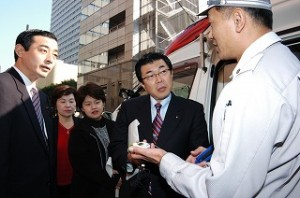 2004/11/24 救急車が長崎出張所に追加配備ー到着時間が大幅に短縮!