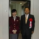 2003/10/1 JR目白駅ーメッツホテル開所式