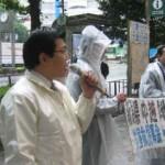 2004/10/30 新潟県中越地震被害救援募金-豊島区救援の会を支援