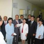 2003/6/5 都立大塚病院「女性専用外来」を視察