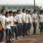2003/11/8 区立中学校PTA親子ソフトボール大会