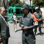 2004/4/20 豊島区都市型災害合同訓練―ヘリコプターと通信訓練