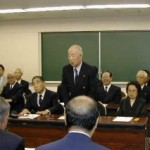 2003/9/27 区体育協会とスポーツ議員連盟懇談会