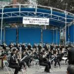 2004/3/14 池袋西口公園野外ステージ開閉ルーフ完成披露