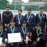 2003/5/25 池袋消防団ポンプ操法大会、第5分団優勝!(木下議員選手で優勝)