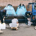 19R1.9.16  台風被災地・千葉県君津市に豊島区の給水支援